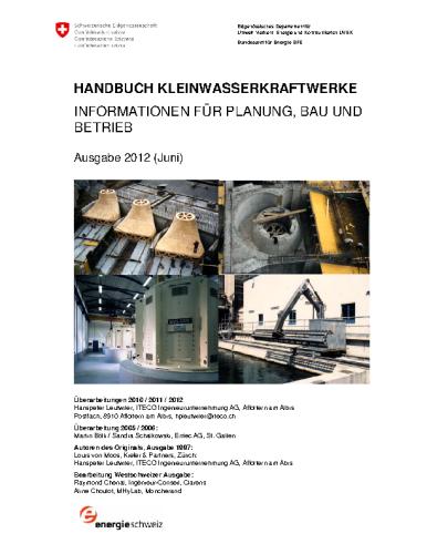 Handbuch Kleinwasserkraftwerke (2012)