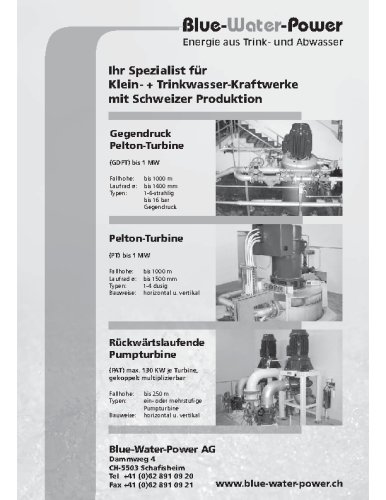 """""""Das Kleinkraftwerk"""" – Nr. 83"""