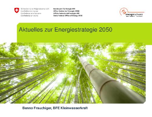 BFE – Aktuelles zur ES2050