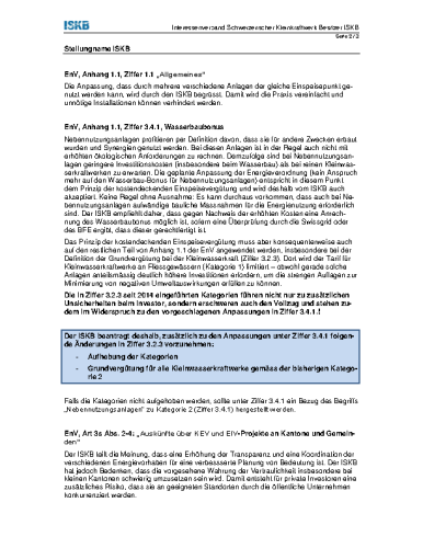 Anpassung EnV (BFE, 07/2015)