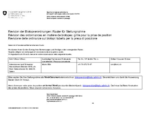 Revision BIOP (BAFU, 11/2015)
