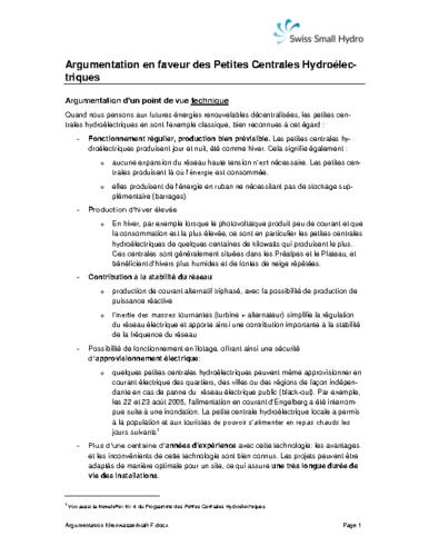 Argumentation Kleinwasserkraft F 2016 v160622