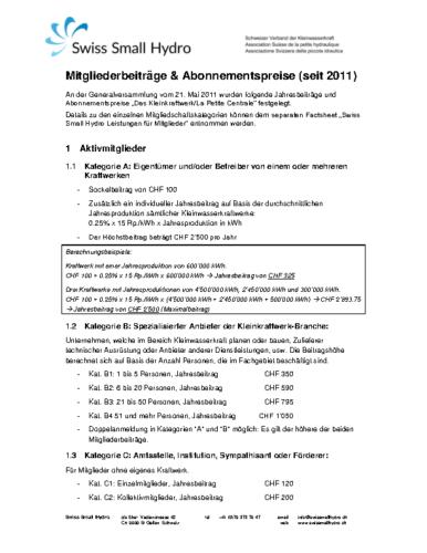 Beiträge & Abonnemente v170412