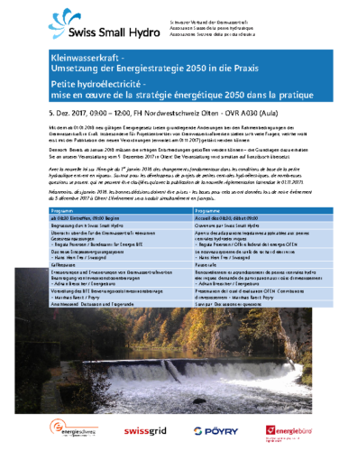 05.12.2017, Olten «Umsetzung ES2050