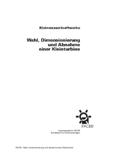 247_4d Turb.auswahl, Dimensionierung, Abnahme