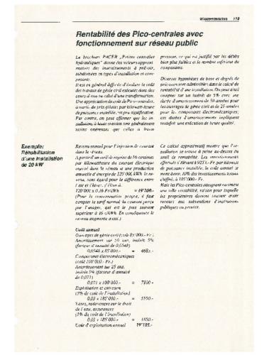 3df Pico-Kraftwerke III