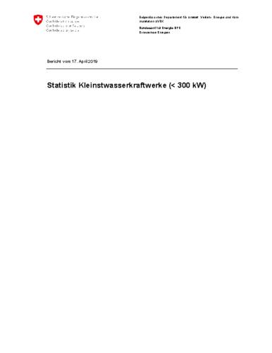 190417 Statistik Kleinstwasserkraftwerke