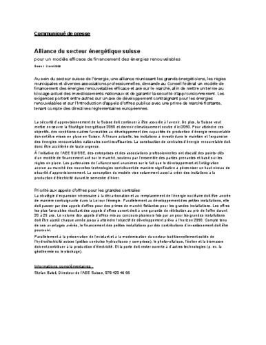 CdP modèle efficace de financement des énergies renouvelables
