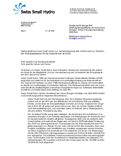 200712 Stellungnahme Vernehmlassung EnG WEB v200706