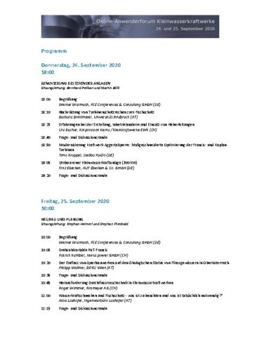 Programm_Online Anwenderforum_KWK_2020