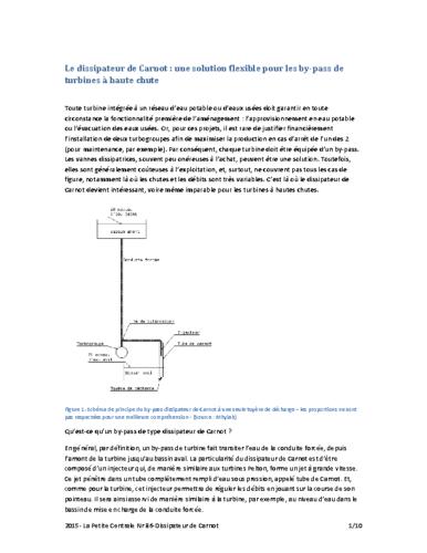 2015- La Petite Centrale Nr 86-Dissipateur de Carnot